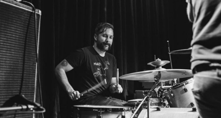 TFOT. drums B&W