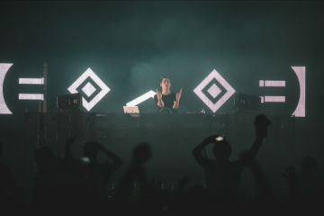 Porter Robinson will perform a live set at Shaky Beats next weekend